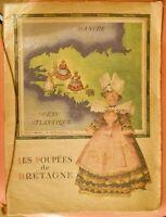 Les poupées de Bretagne. F. GOURVIL illust. Jean Adrien MERCIER Parfait Etat