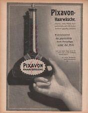 DRESDEN, Werbung 1908, Lingner-Werke Pixavon Haar-Pflege Teer-Präparat Kosmetik