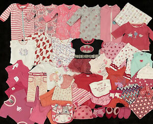 Baby Girls Size NB/ Size 0000 Clothing | BONDS, MARQUISE & More—- 44 Items