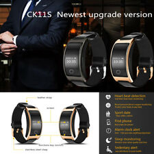 CK11S Black Blood Pressure Heart Rate Smart Watch Bracelet Bluetooth Wristband