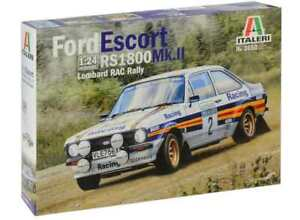 Italeri 1/24 3650 Ford Escort RS1800 Cosworth Mk. II Lombard RAC Rally