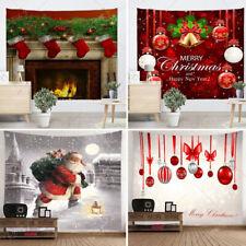 Hot Xmas Art Home Wall Hanging Tapestry Wall Ornamentation Christmas Wall Decor