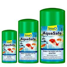 Tetra POND AQUASAFE Fast Acting Tap Water Fish Health Safe Liquid Treatment