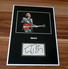 Tom Petty (+) *Learning to Fly*, original signed Collage Photo 20x30 (8x12)