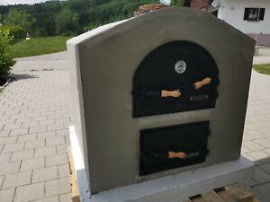 Holzbackofenbausatz Indirekt befeuert Steinbackofen Pizzaofen