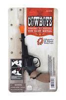 Cowboys 8 Ring Shot Cap Western Cowboy Series Die Cast Pistol Revolver Prop Gun