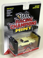 Racing Champions Mint 1/64 Scale 1965 Pontiac GTO Light Yellow Diecast model car