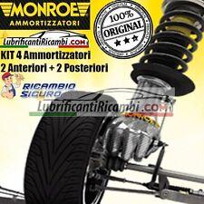 KIT 4 Ammortizzatori MONROE ORIGINAL Reflex Fiat Idea 1.3 - 1.4 - 1.6 - 1.9  - 2