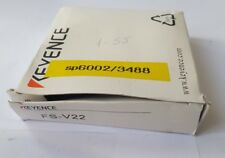 KEYENCE FS-V22 PHOTOELECTRIC AMPLIFIER (RS4.4B8)