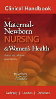 USED (VG) Clinical Handbook for Olds' Maternal-Newborn Nursing (Davidson, Clinic