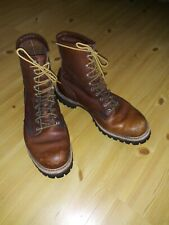 Vintage  RED WING IRISH SETTER Sport Work Boots 11-E Round Toe Minty Original