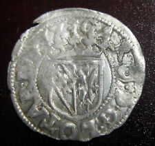 DOUBLE DENIER - DUCHE DE LORRAINE CHARLES III (1545-1608) - Argent