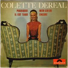 """COLETTE DEREAL """"POURQUOI"""" 60'S EP POLYDOR 27215"""