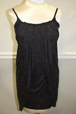 Versace for  H&M black Pelle Borchie Gold Beaded Dress Size 2 (DR 400)
