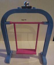 Lego Belville 6199 - 6200 Swing Balançoire Pink Rose Blue Bleu du 5834  ou MOC