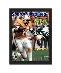 Sports Illustrated (1980's) Magazine Display Frame - Acrylic, Backing, and Hardw