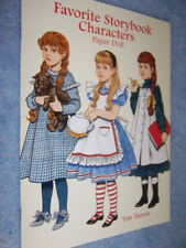 1997 Favorite Storybook Characters Paper Dolls by Tom Tierney