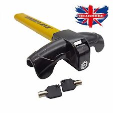 Car Steering Wheel Lock Anti Theft Security Rotary Design Prevents Wheel Turning