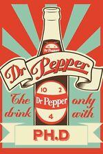 Dr Pepper Ad FRIDGE MAGNET (2 x 3 inches)(AA)