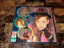 Boy George Rare Authentic Signed Vinyl Record Culture Club Colour By Numbers COA