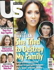 US Weekly magazine Real Housewives Melissa Gorga Robert Pattinson Fashion