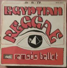 RARE 45t 7'' RAMSES BALLET EGYPTIAN REGGAE BELGIUM ELECTRO FUNK SOUL 1977 BE+