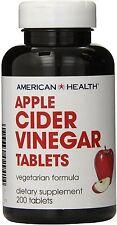 Apple Cider Vinegar, American Health, 200 tablets