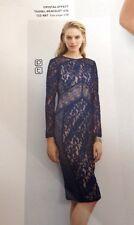 Stunning * Next* (size Uk 14) Navy Blue Lace Dress New £60 on tags.
