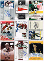 HUGE Lot Of 2004-05 Autos - Game Used - Rookies - Parallels - Inserts - Base