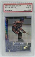 1999 SPx9 99 Cheers Wayne Gretzky #CH4 PSA 9 POP 1