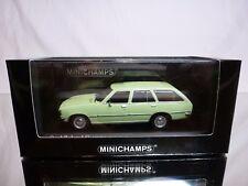 MINICHAMPS 44011 OPEL REKORD D CARAVAN 1975 - GREEN 1:43 - EXCELLENT IN BOX