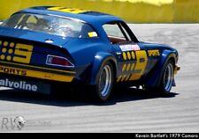 #9 Sports Camaro Trans Am Race car Decal 1/24th - 1/25th Scale