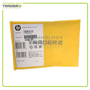 839888-001 HP 10mm Keyed Laptop Cable Lock * Factory Sealed Retail *