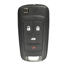 KeylessOption Keyless Entry Remote Smart Car Prox Key Fob W//Key for GMC Terrain 18-20 HYQ1AA