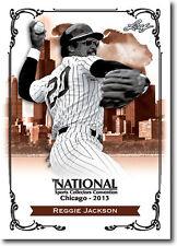 REGGIE JACKSON.- 2013 Leaf National Convention PROMOTIONAL Baseball Card