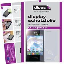 2x dipos crystalclear protector de pantalla para LG e610 Optimus l5 protector de pantalla