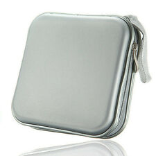 40 CD DVD Disc Album Storage Carry Case Cover Wallet Holder Bag Hard Box SY