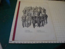 large J.L. TAYLOR & COMPANY aprox 22 x 15 advertising sheet/sign/page UNIFORMS