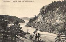 15747/ Foto AK, Trollhättan, Kopparklinten och Helvetesfallen, ca. 1910