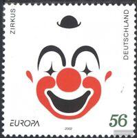 BRD 2252 (kompl.Ausg.) postfrisch 2002 Zirkus