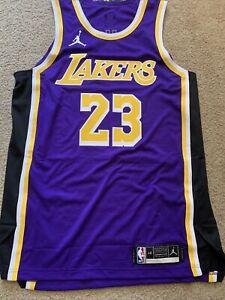 Nike Jordan Lebron James On Court Authentic Jersey L 48