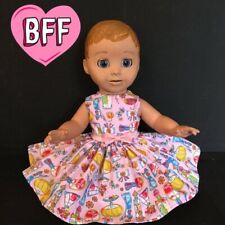 "17"" Dolls Clothes fits Luvabella  fits Baby Born Dolls. Dolls Dress/ Outfit."
