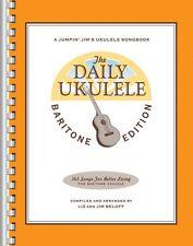 The Daily Ukulele Baritone Edition Sheet Music Real Book Fake Book NEW 000121280
