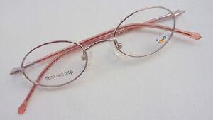 Flexible Stable Glasses Frames For Girl Kids Children's Glasses Oval Pink Size K