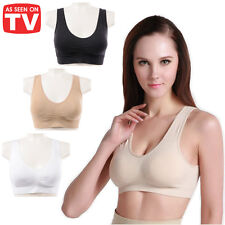 SMOOTHEZE BRA Seamless Comfort Comfy Shapewear Sports Stretch Crop Top Support