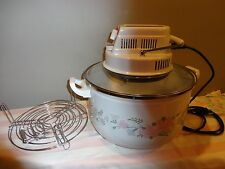 Aroma AeroMatic Portable Oven with porcelain enamel Pot Turbo Way to Cook