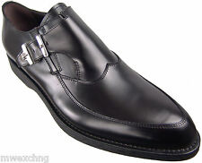 New Authentic $915 Cesare Paciotti US 8 Leather Loafers Italian Designer Shoes