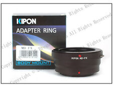 Kipon Adapter for Minolta MD MC MF lens to Fujifilm Fuji X-PRO2 X-E2S X-T2 X-T20