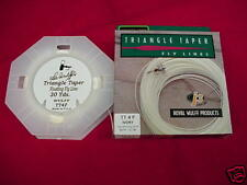 Royal Wulff Fly LineTriangle Taper Ivory #9 GREAT NEW