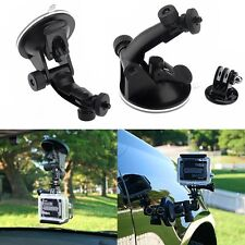 Car Suction Cup Mount Holder Stand With Tripod Adapter For Gopro Hero 3+ 3 2 1